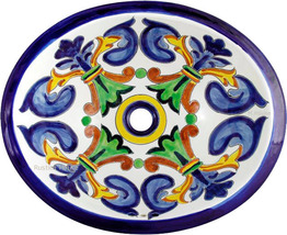 "Mexican Oval Bathroom Sink ""Norman"" - $172.00"