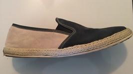 Steve Madden Gunman Slip On White Navy Blue Sneaker Loafers Shoes Mens 12 - $24.74