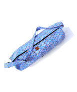 Blue Handmade Shoulder Bag Pure Cotton Indian Yoga Mat Carrier Cross Bod... - $26.99