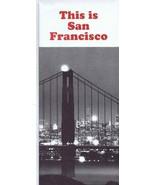 ORIGINAL Vintage 1960s This is San Francisco Tourism Brochure - $12.19