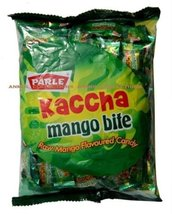 Parle Kaccha Mango Bite Toffee Candy Raw Mango Flavored Tasty Candy 100 ... - $15.00