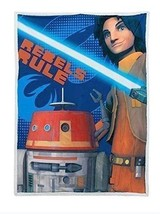 Star Wars Rebels Mink Sherpa Throw Blanket Wrap (46 X 60 Inches) - €25,33 EUR