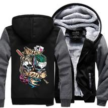 HARLEY QUINN & JOKER Super Warm Thicken Fleece - $69.99+