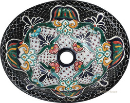 "Mexican Oval Bathroom Sink ""Maryland"" - $172.00"