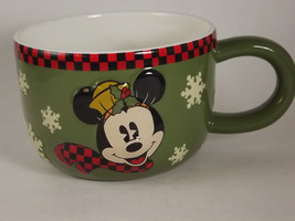 Mickey Mouse Winter Soup / Chili Mug - $2.95