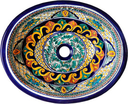 "Mexican Oval Bathroom Sink ""Lubbock"" - $172.00"