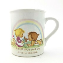 Hallmark Mug Mates Betsey Clark 1983 Friend Friendship Keep Warm Coffee Mug - $10.03