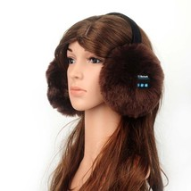 Wireless Bluetooth headphone Ear Warmer Women Adjustable Winter Faux Ear... - $29.99