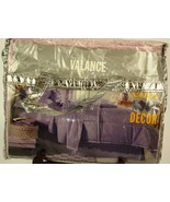 1 Seventeen Cool Room Decor Lavender Twin Bedskirt and 1 Lavender Valanc... - $14.89