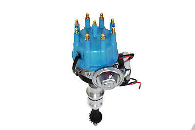 BBC Big Block Ford R2R 351C 351M 400M 429 460 Small Cap Distributor Blue