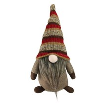 "Northlight 11"" Brown Thanksgiving Autumn Traditional Sitting Gnome Strip... - $8.65"