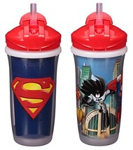 Playtex Sipsters Stage 3 Super Friends Straw Sippy Cups for Boys - 9 Oun... - $10.34