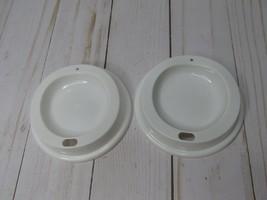 T 2~ Starbucks ReUsable Hot Cup Replacement Lid lids - $10.88