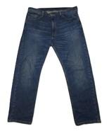 Levis 505 Regular Fit Straight Leg Jeans Medium Wash Work Jeans Men's 38... - $21.14