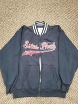 Estes Park Colorado J. America Vintage Black Zip-Up Sweatshirt Mens Large - $14.84