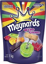 Maynards Wine Gums 4 x 1kg each Canadian Made  - $89.99