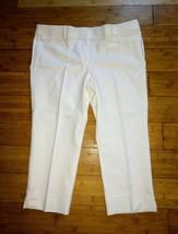 LOFT Riviera Pants Marisa Fit Crosby Dress Cropped Work Petite Short 18W... - $39.55