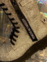 NEW In BOX Billionaire Bling Boot Club Exx Size 7 WOW! SHIIINYYY image 2