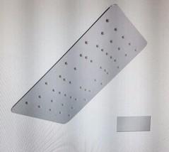 Mirabelle MIRRS1020SBN 2.0 Gpm Single Function Square Rain Shower Head!!! - $327.99