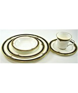 Noritake Gold And Sable 9758 -5 Piece Place Setting Dinner Salad Bread P... - $79.19