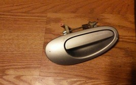 2005 Dodge Neon OEM Outer Door Handle Rear RH Right Silver image 1