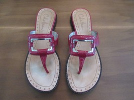 Cole Haan J8 D26704 Women Red Patent Leather Shoes Size 6.5 B Beautiful Used - $49.49