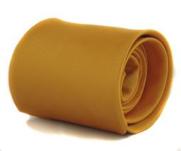 Plain Yellow Mens Tie by Frederick Thomas FT1123 RRP £19.99