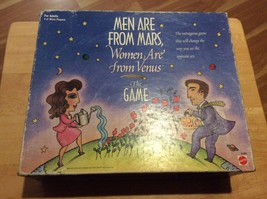 Men Are From Mars Women Are From Venus Board Game FACTORY SEALED! - $19.98