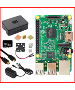 Original Raspberry Pi 3 Model B Kit 5V3A Power Supply + 16G SD Card +ABS Case+.. - $75.23 - $118.79