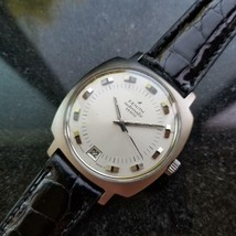 ZENITH 28800 Automatic w/ Date c.1960s Rare Mens Swiss Vintage Watch LV492 - $2,235.97