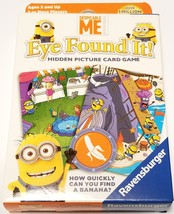 Despicable Me Eye Found It! Hidden Picture Card Game