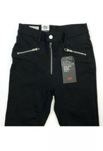 Levis Womens Motorcycle Mh T2   Skinny Ankle Black Jeans MSRP $98 SZ 25 - $49.49