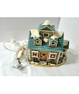 Lefton Colonial Village NAUTICAL SHOP Lighted Christmas House + Cord 198... - $64.30