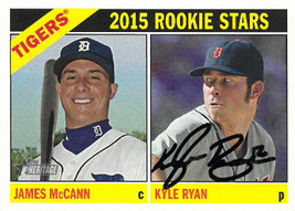 Kyle Ryan signed 2015 Detroit Tigers Topps Heritage Rookie Stars Card #107 - $15.00
