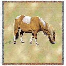 Shetland Pony Lap Square - 54 x 54 Blanket/Throw - $49.95