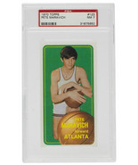 Pete Maravich 1970 Topps #123 Atlanta Hawks Basketball Card PSA NM 7 - $6,929.99
