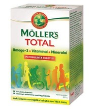 Möller'S Total N56 The Optimal Combination of Vitamins, Minerals and Omega 3 - $39.99