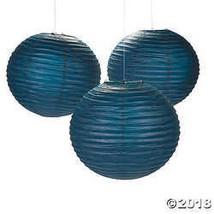 Navy Blue Hanging Paper Lanterns - $39.49