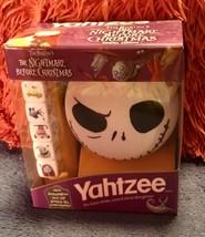 Tim Burton's The Nightmare Before Christmas  Jack Yahtzee  NIP ASAP Shipping - $25.74
