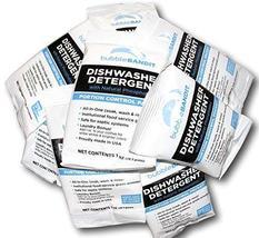 Sample Size Box- Bubble Bandit Dishwasher Detergent. 10 single use packets - $12.00