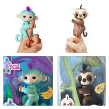 Fingerlings - Interactive Baby Monkey and Sloth - Zoe and Kingsly By WowWee - $58.20