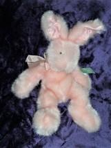 Russ Mennington Plush Pink Bunny Rabbit Easter Stuffed Animal kids gift - $44.54