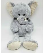 "32"" Jumbo Animal Adventure ELEPHANT Gray Plush Pillow Bed Floppy Stuffed... - $49.99"