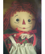 DAKIN RAGGEDY ANN HOLIDAY KEEPSAKE DOLL  - $25.00