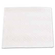 "Beverage Napkins, 1 Ply, 9 1/2"" X 9"", White, case of 8000 - $85.80"