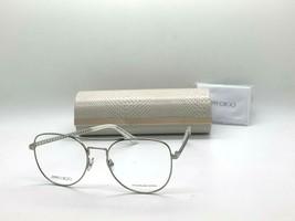 Jimmy Choo Eyeglasses Jc 200 YB7 Silver 54-18-140MM Italy Case& Cloth - $77.57