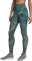 Nike Womens Power Printed Fitness Workout Athletic Leggings, XS