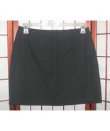 Gap Stretch black knee length skirt women's size 10 - $4.00