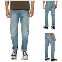 Levi Mens 501 Straight Leg Jean Size W33 x L30 Color Ultra Beat  RRP $69.50 - $22.99