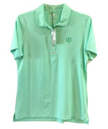 NWT Large Wmns Peter Millar Oak Hill Country Club Element Golf Polo Top ... - $29.58